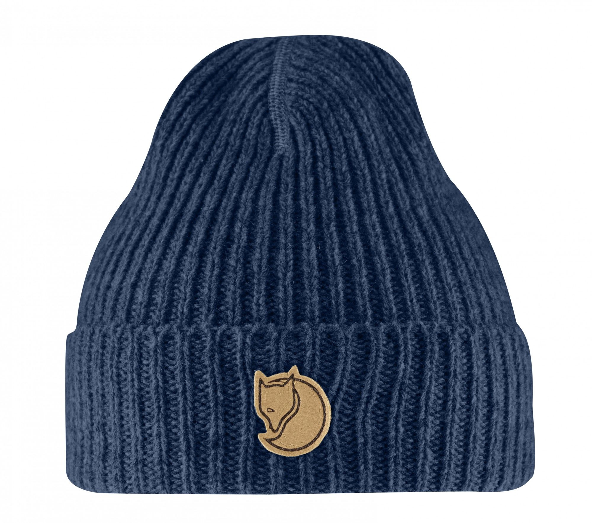 Fjällräven Kids RIB Beanie Blau, One Size -Farbe Blueberry, One Size