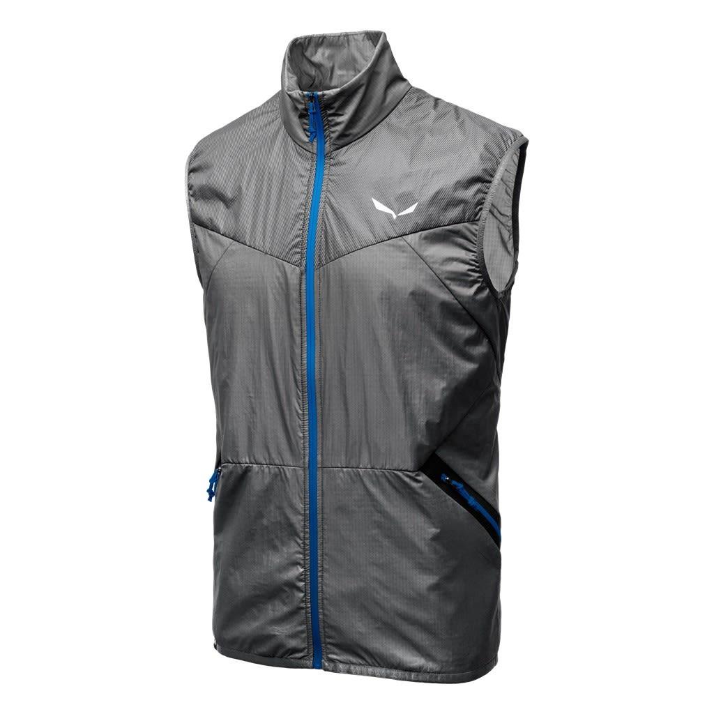 Salewa Pedroc Hybrid Polartec Alpha Vest (Modell Sommer 2018) Grau, Male Polarte