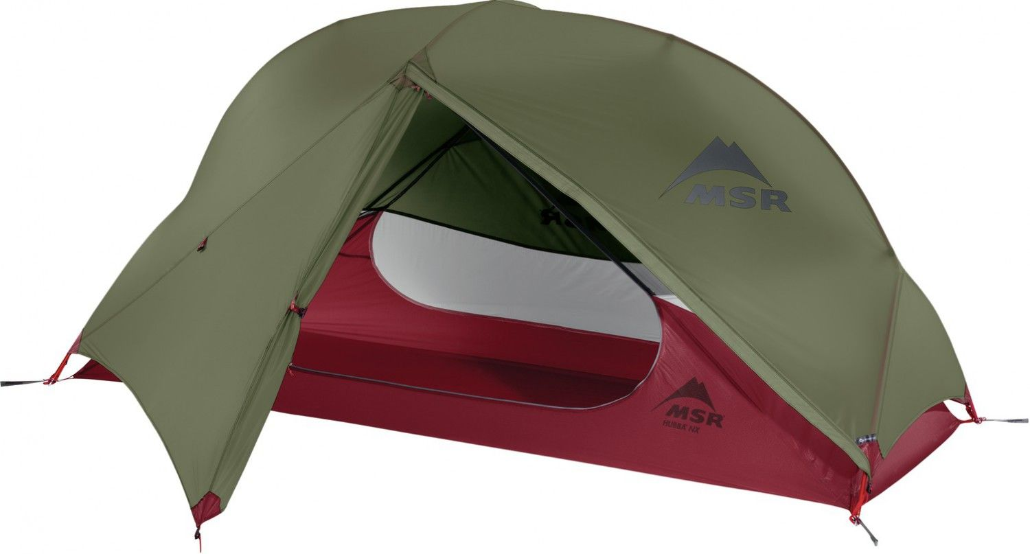 MSR Hubba NX Tent Grün, 1 Person -Farbe Green, 1 Person