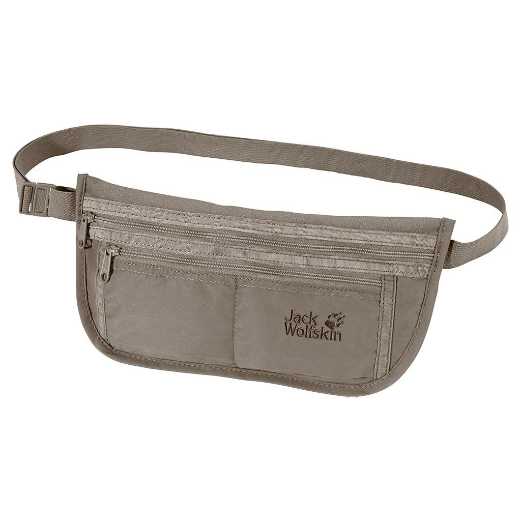 Jack Wolfskin Document Belt DE Luxe Grau, Dokumenttasche, One Size