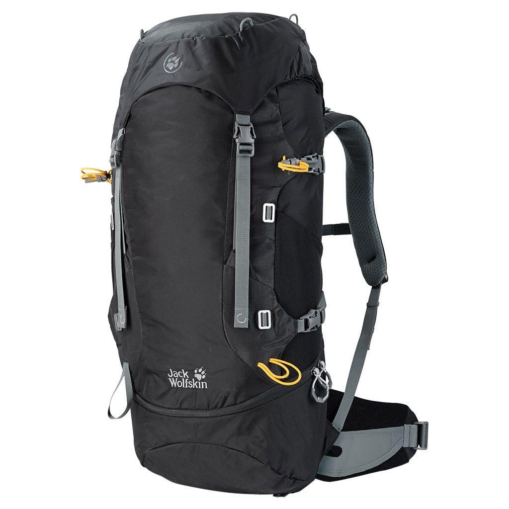 Jack Wolfskin EDS Dynamic 48 Pack Schwarz, Alpin-& Trekkingrucksack, 48l