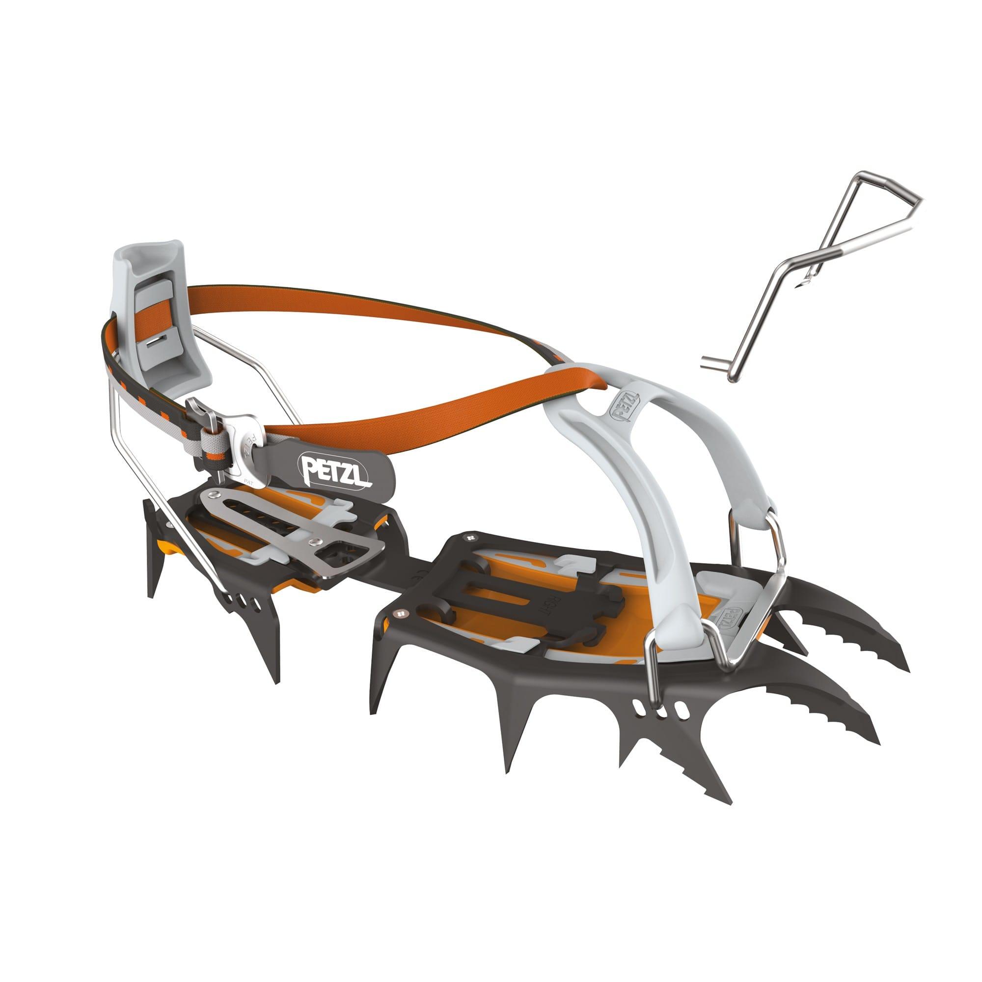 Petzl Sarken Leverlock Universel Orange, One Size -Farbe Black -Orange, One Size