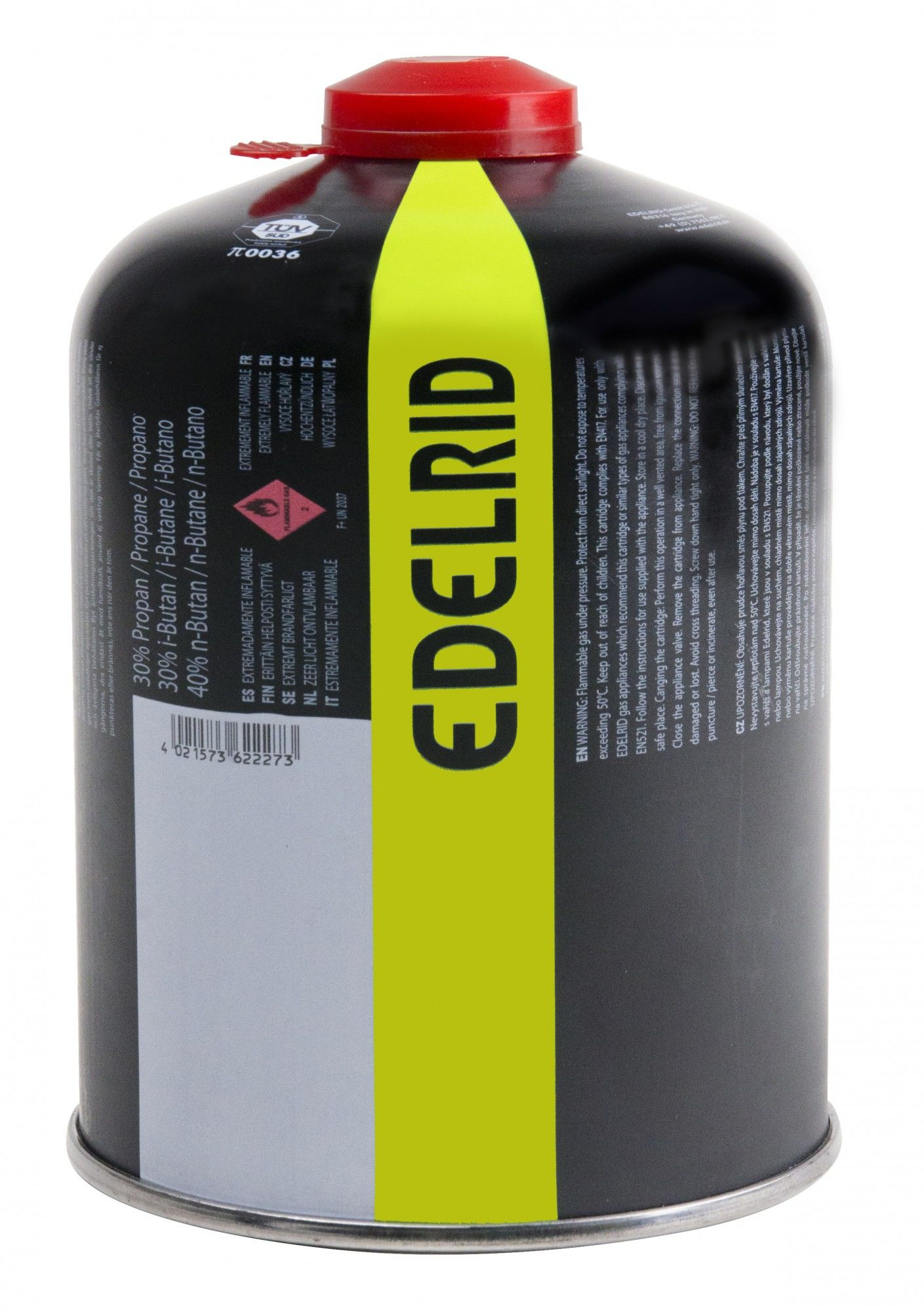 Edelrid Outdoor GAS 450 Schwarz, One Size -Farbe Black, One Size