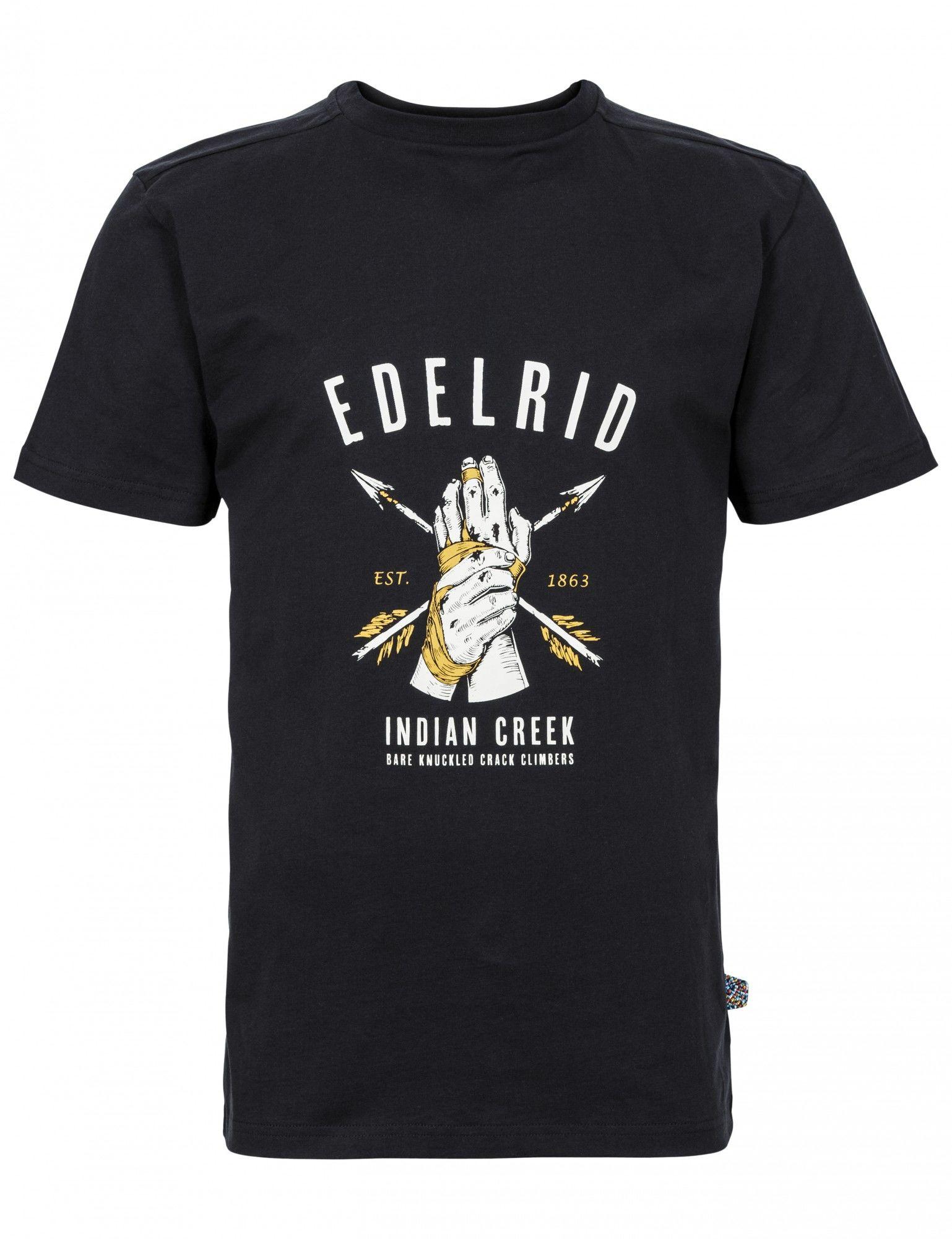 Edelrid Highball T-Shirt Schwarz, Male Kurzarm-Shirt, XL