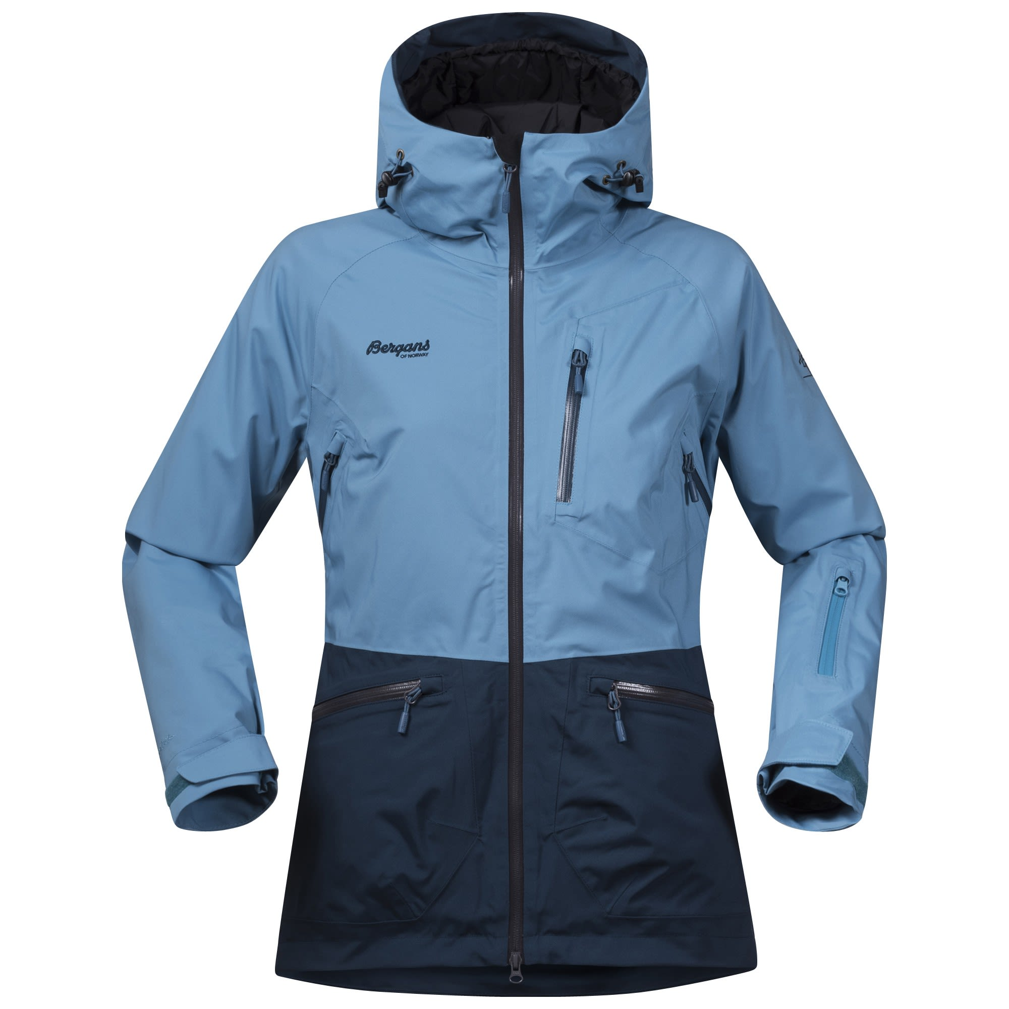 Bergans Myrkdalen Insulated Jacket Colorblock, Female Dermizax™ Isolationsjack