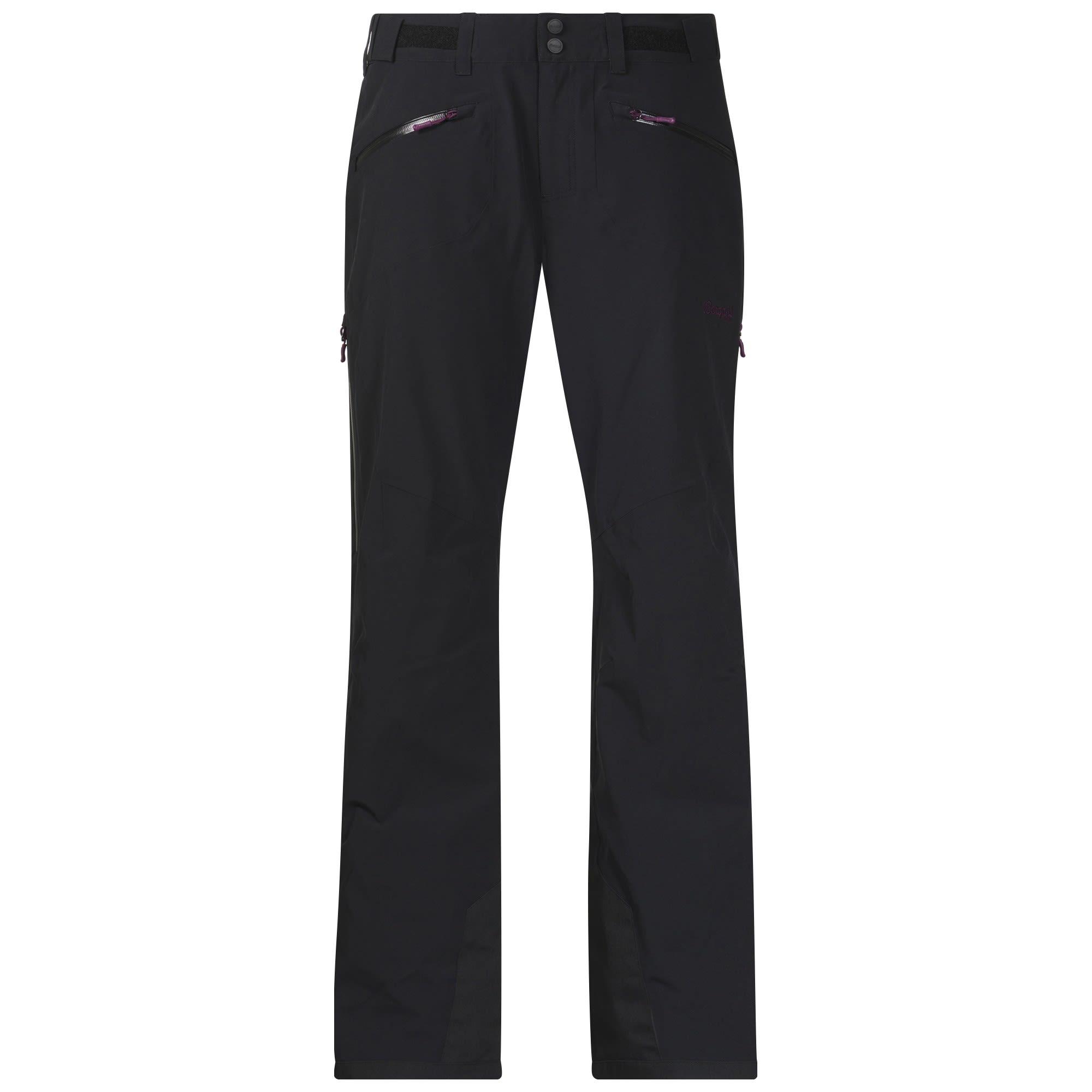 Bergans Oppdal Insulated Pants Schwarz, Female Hose, XS