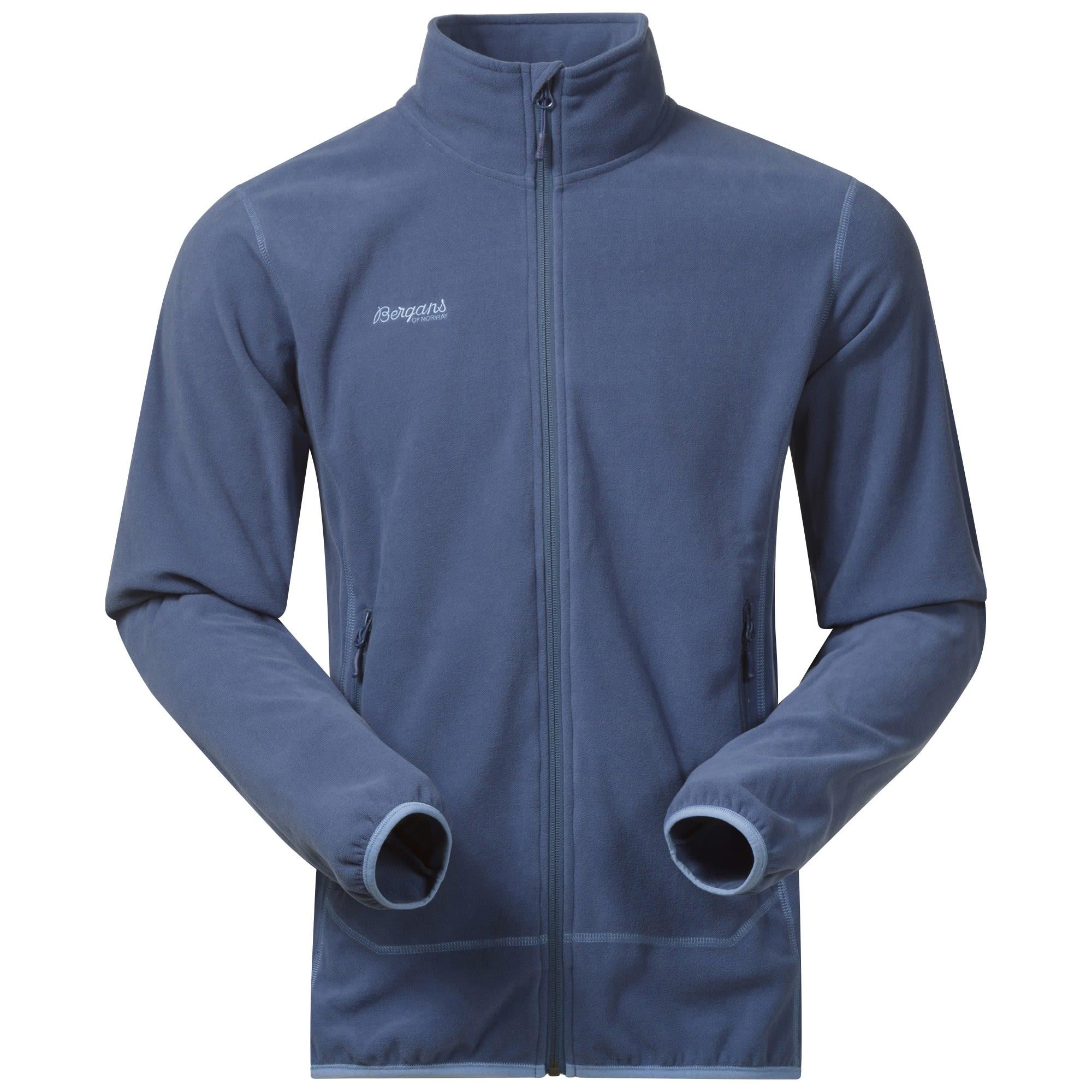 Bergans Ylvingen Jacket Blau, Male Fleecejacke, M