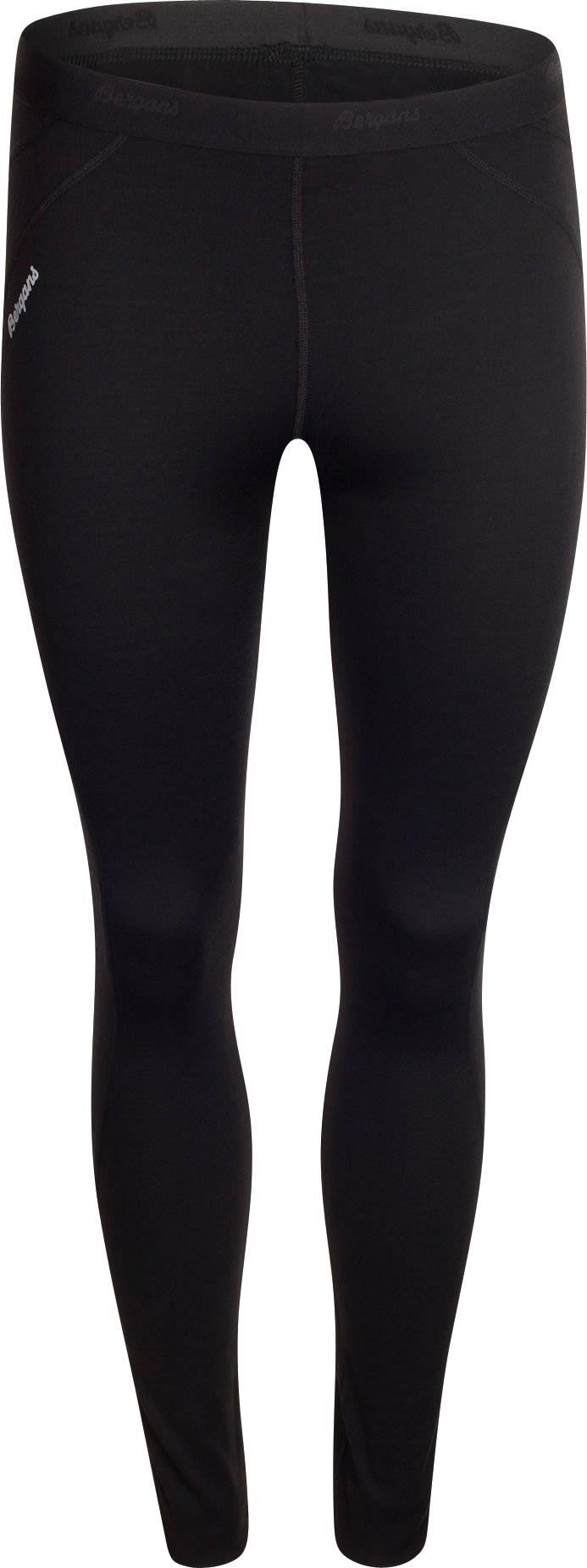 Bergans Fjellrapp Tights Schwarz, Female Merino Tights, XS