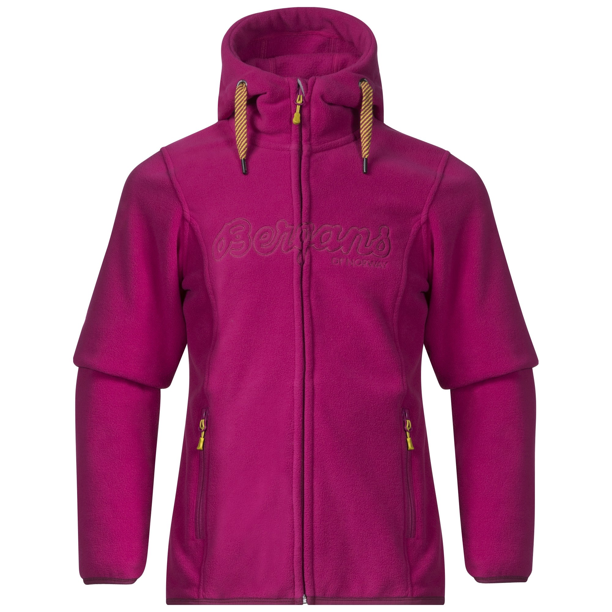 Bergans Bryggen Youth Girl Jacket | Größe 128,140,152 | Kinder Fleecejacke