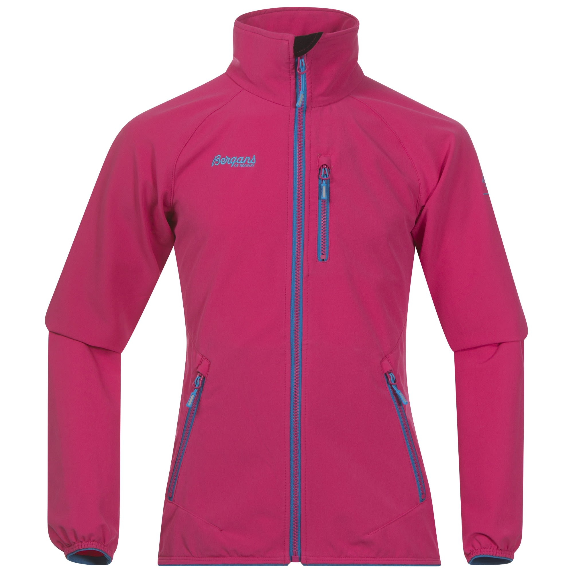Bergans Kjerag Youth Girl Jacket Pink, Female Freizeitjacke, 164