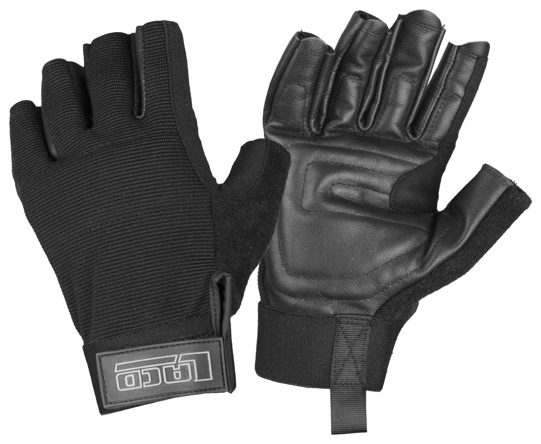 Lacd Via Ferrata Glove Heavy Duty Schwarz, Accessoires, XL