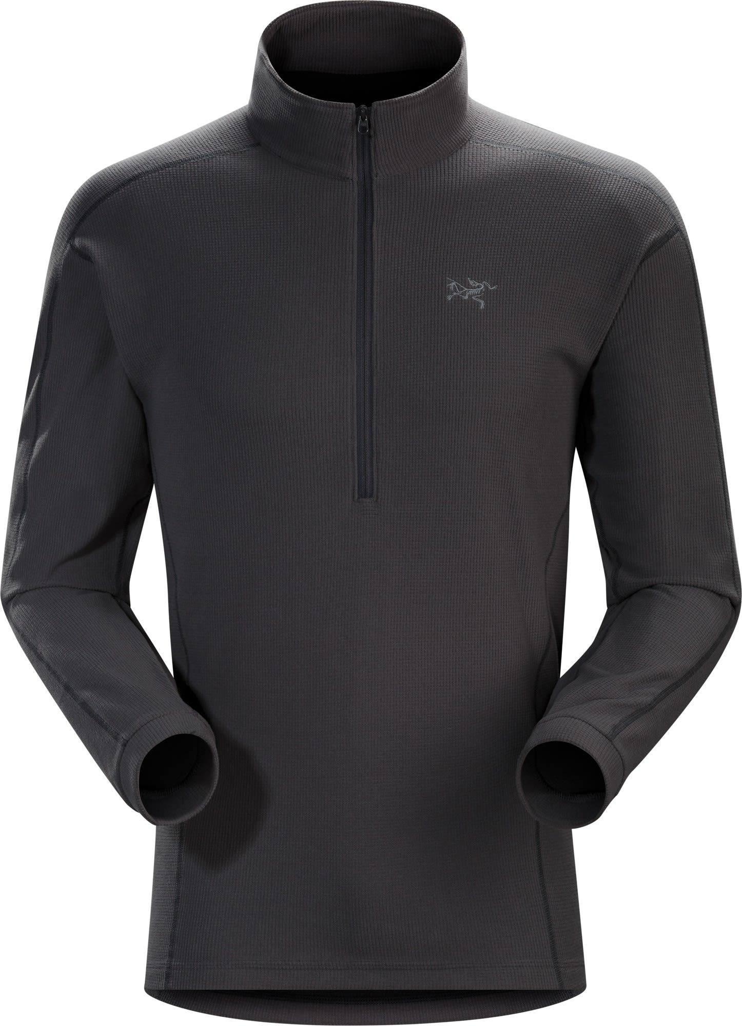 Arcteryx Delta LT Zip Grau, Male Polartec® Freizeitpullover, XL