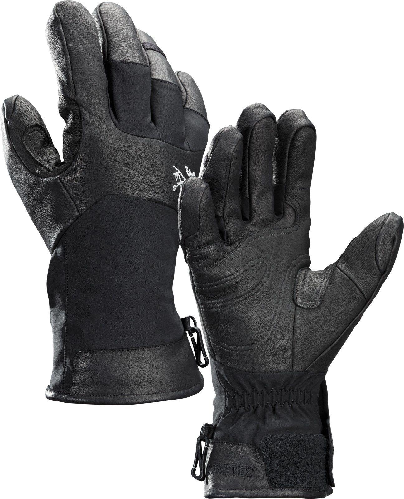 Arcteryx Sabre Glove Schwarz, Gore-Tex® Accessoires, XL