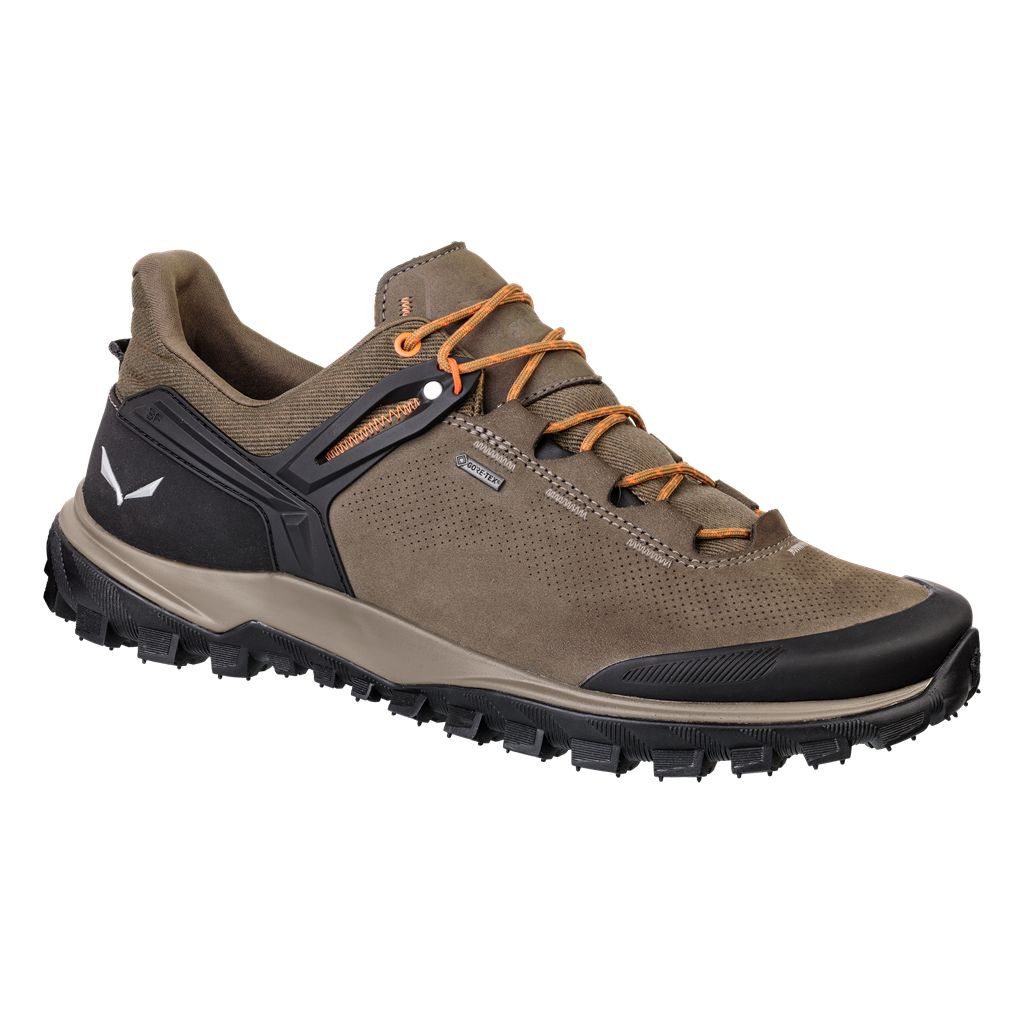 Salewa Wander Hiker Gtx® Beige, Male Gore-Tex® EU 45 -Farbe Walnut -New Cumin,
