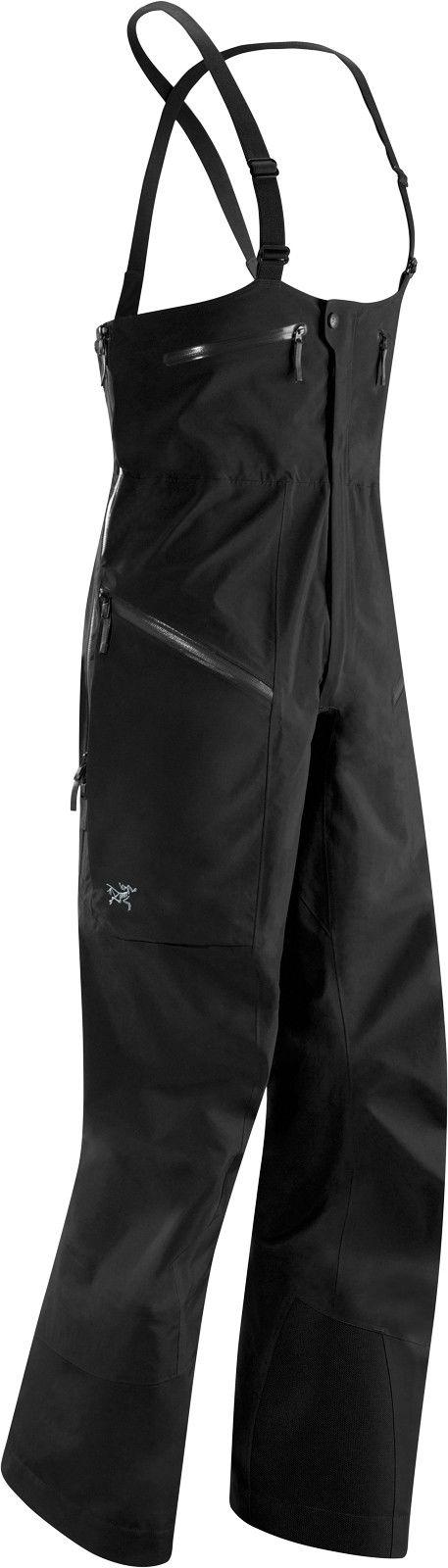 Arcteryx Stinger Bib Schwarz, Male Gore-Tex® Hose, L
