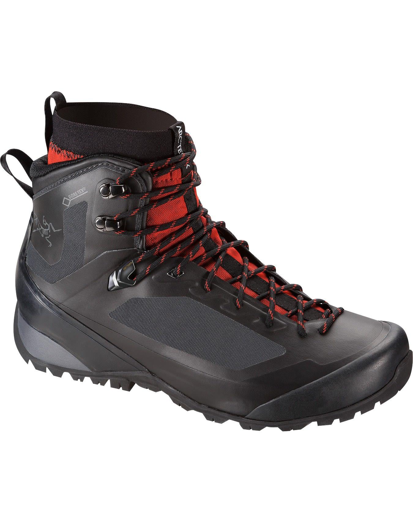 Arcteryx Bora2 Mid Gtx® Hiking Boot Schwarz, Male Gore-Tex® Hiking-& Approach-