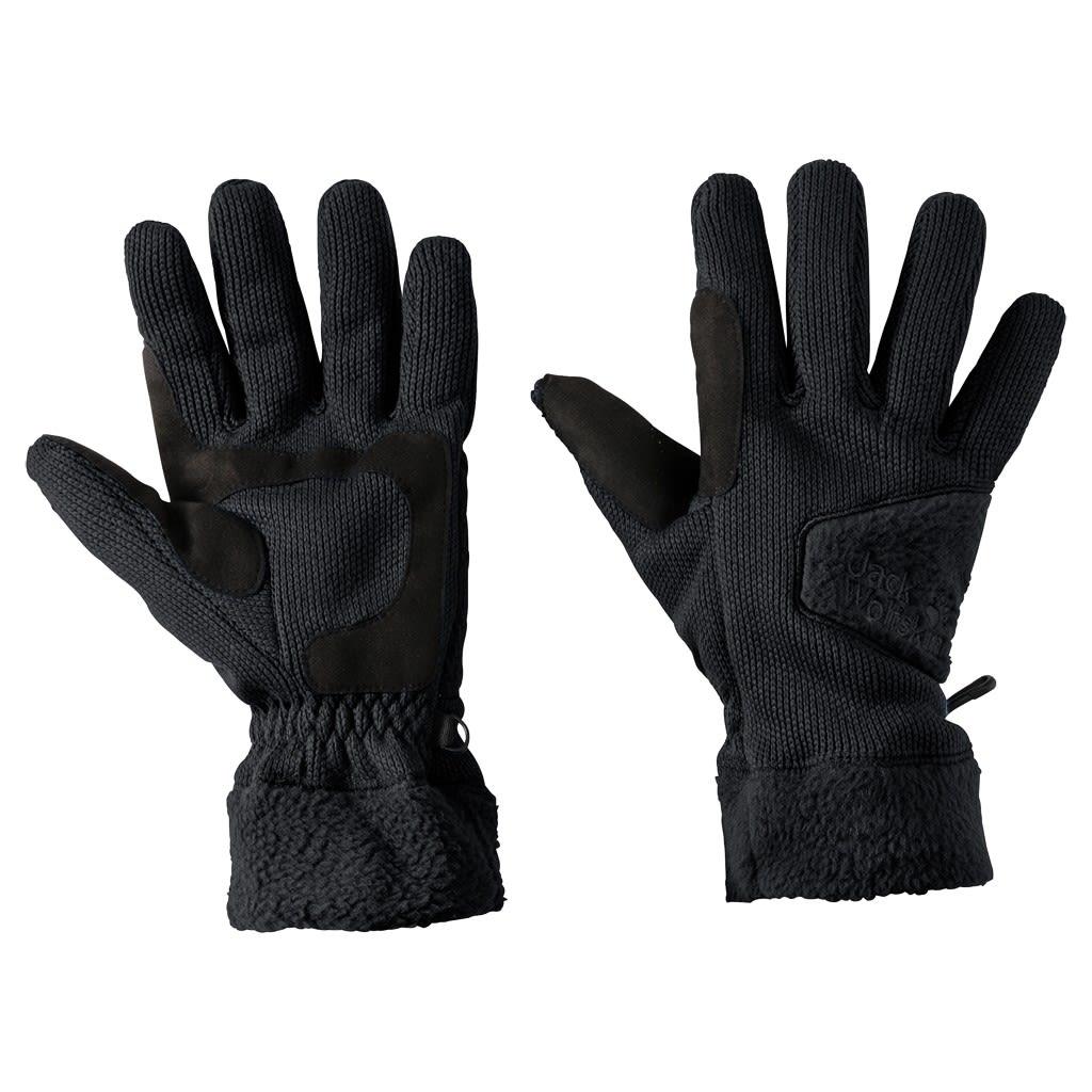 Jack Wolfskin Castle Rock Glove Schwarz, Accessoires, S