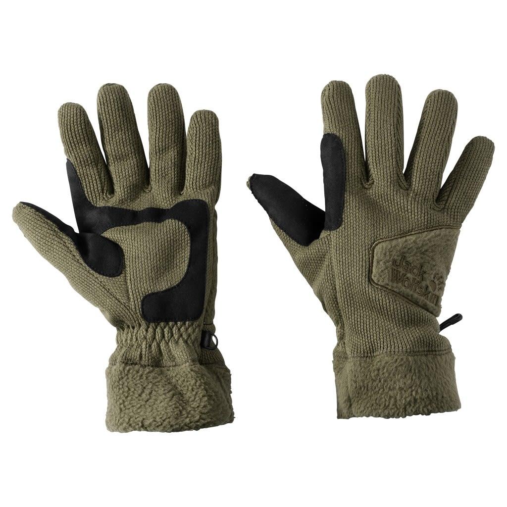 Jack Wolfskin Castle Rock Glove Grün, Accessoires, M