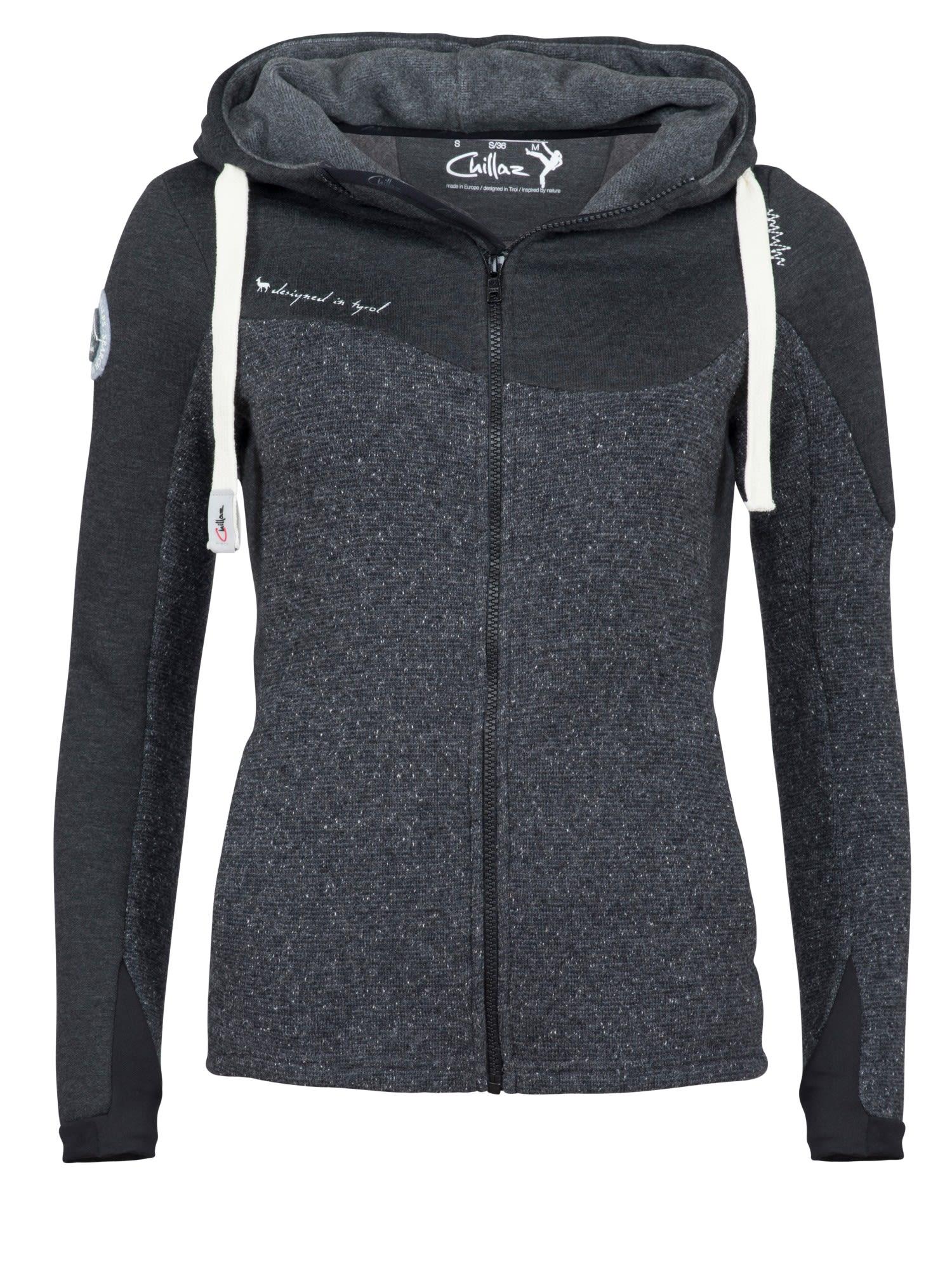 Chillaz Rock Jacket Grau, Female Freizeitjacke, 36