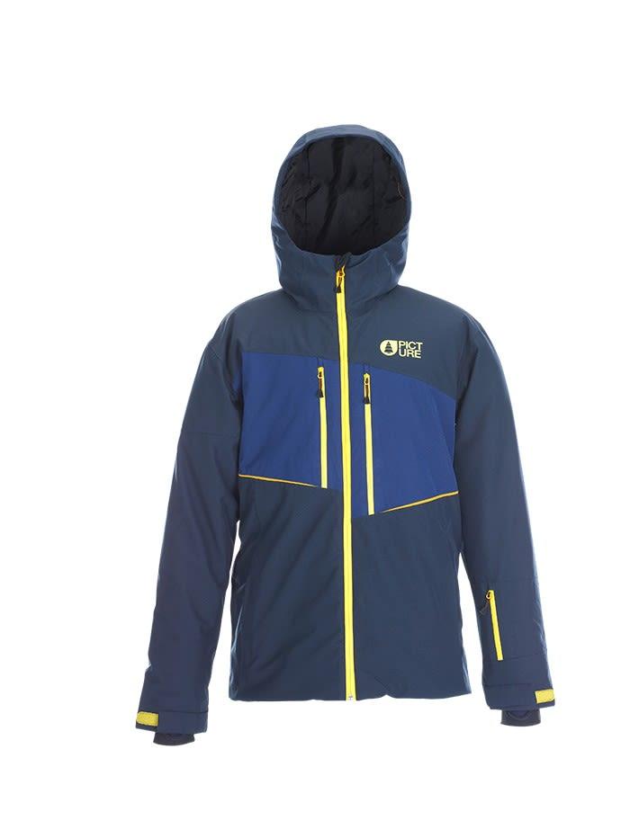 Picture Object Jacket (Modell Winter 2017) Blau, Male Isolationsjacke, XL