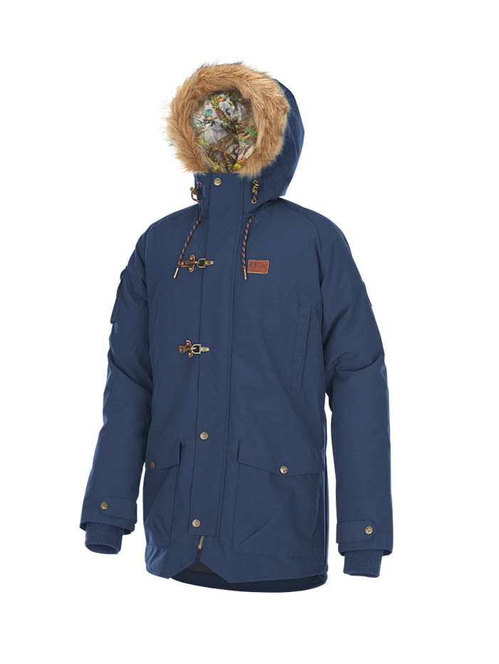 Picture Kodiak Jacket (Modell Winter 2017) Blau, Male Freizeitjacke, S