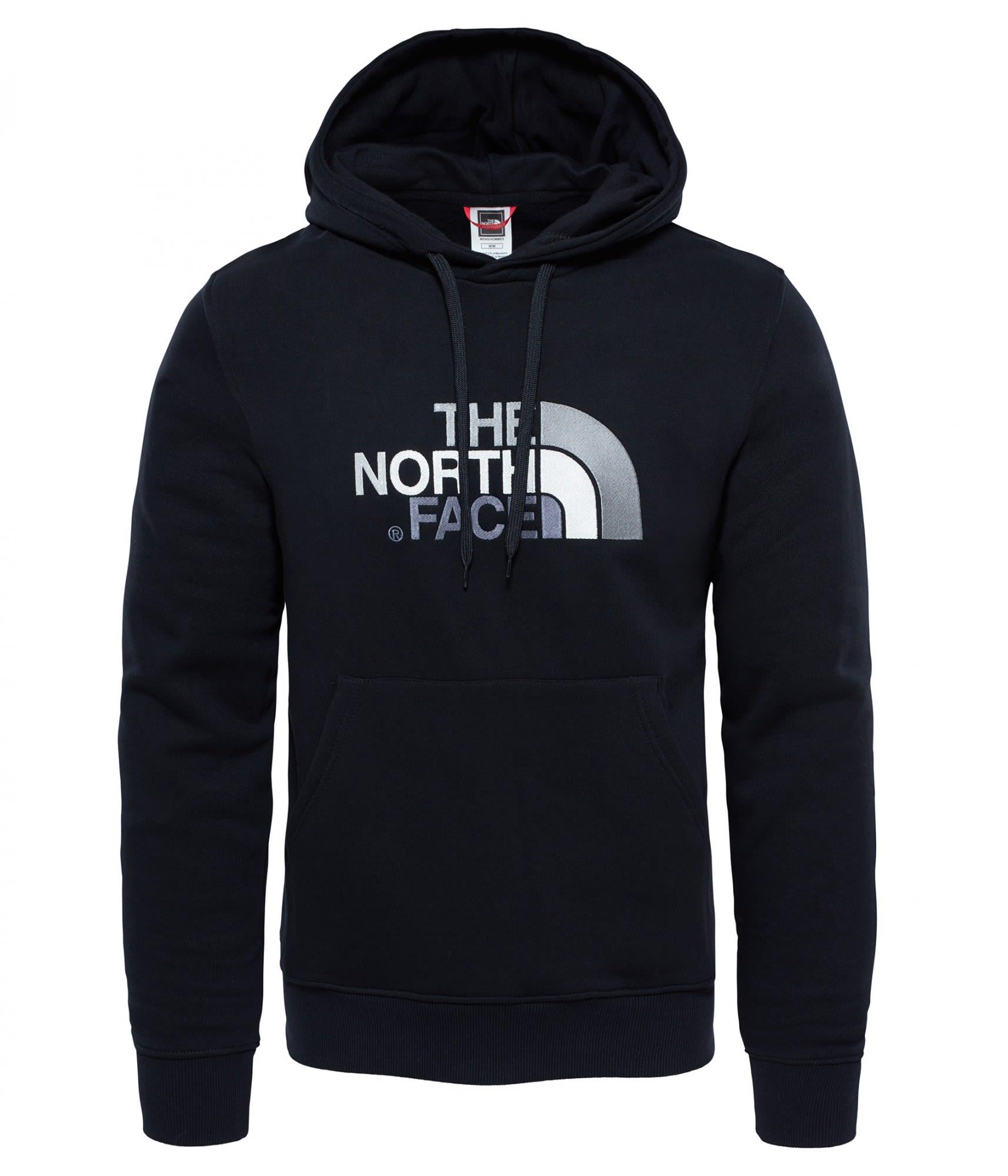The North Face Drew Peak Pullover Hoodie Schwarz, Male Freizeitpullover, XL
