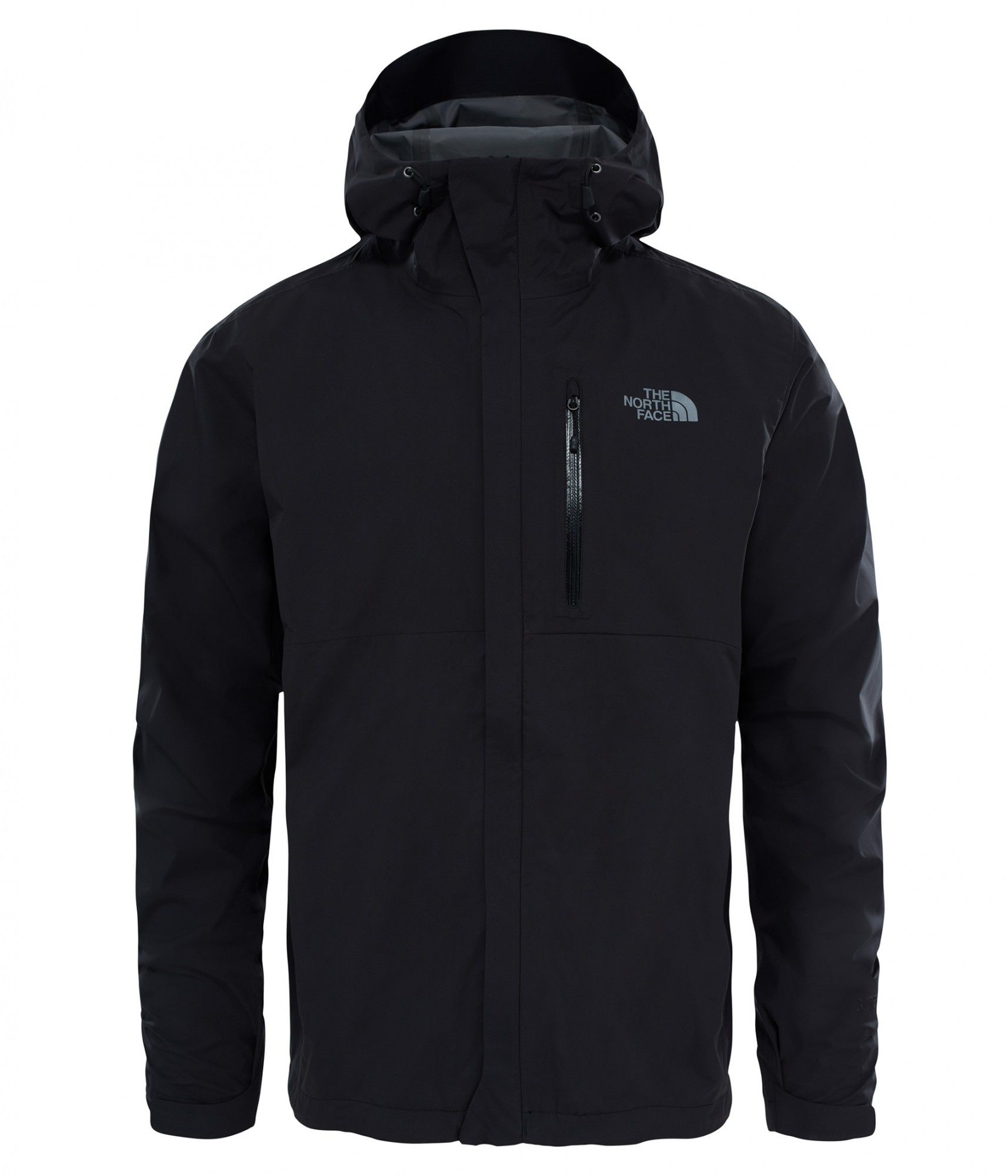 The North Face Dryzzle Jacket Schwarz, Male Gore-Tex® Regenjacke & Hardshells,