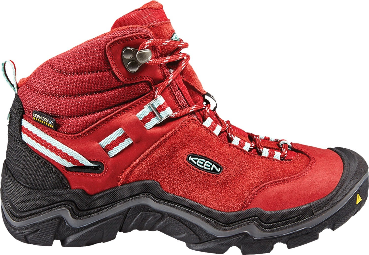 Keen Wanderer Mid Waterproof Rot, Female EU 40 -Farbe Chili Pepper -Gargoyle, 40