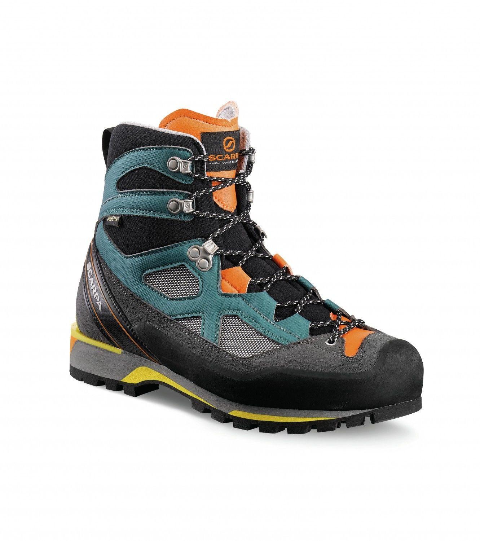 Scarpa Rebel Lite Gtx® Blau, Male Gore-Tex® EU 40.5 -Farbe Petrol -Orange, 40.