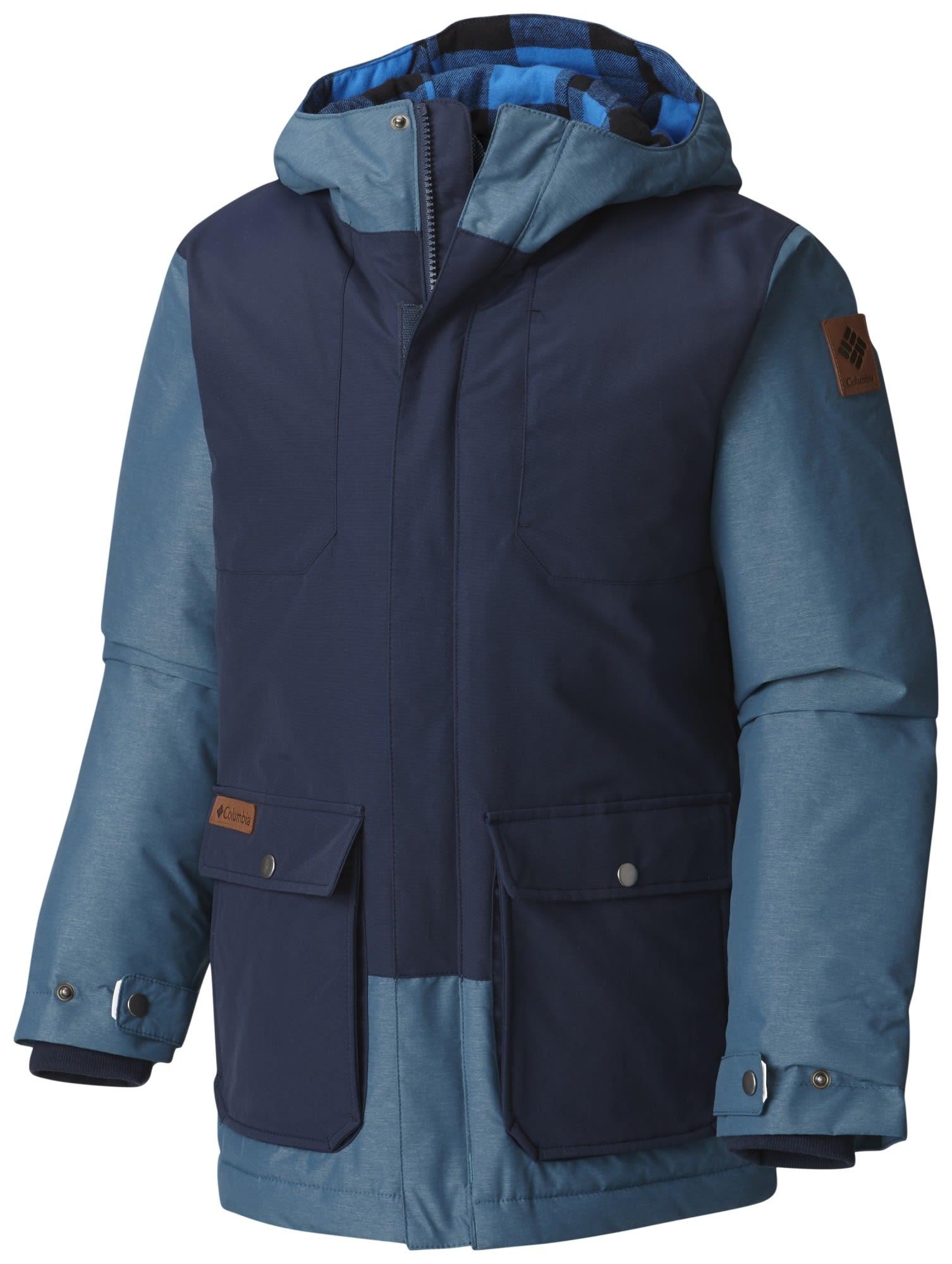 Columbia Boys Lost Brook Jacket Blau, Male Freizeitjacke, M