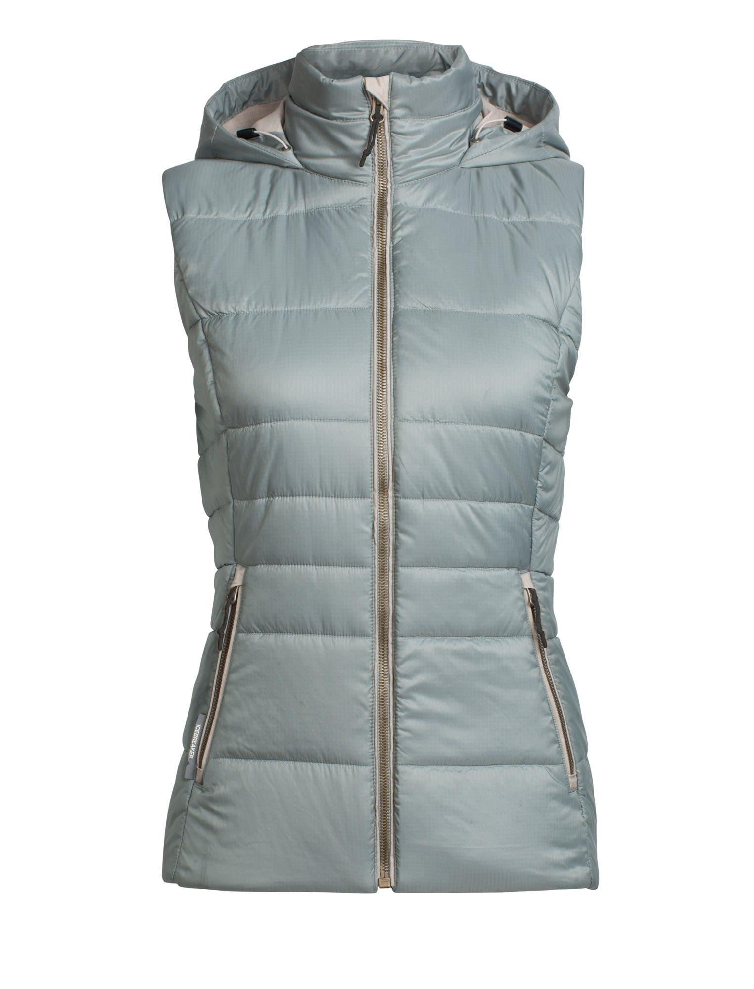 Icebreaker W Stratus X Hooded Vest (Modell Winter 2017) | Größe XS,S | Damen I