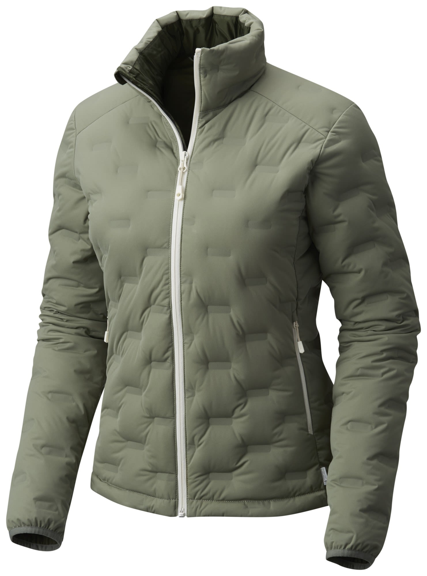 Mountain Hardwear Stretchdown DS Jacket Grün, Female Daunen Freizeitjacke, L