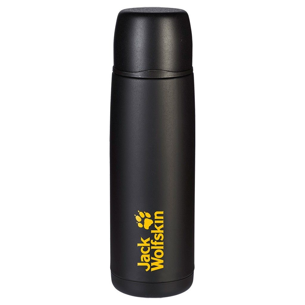 Jack Wolfskin Thermo Bottle Grip 0.9 Schwarz, 0.9l -Farbe Black, 0.9l