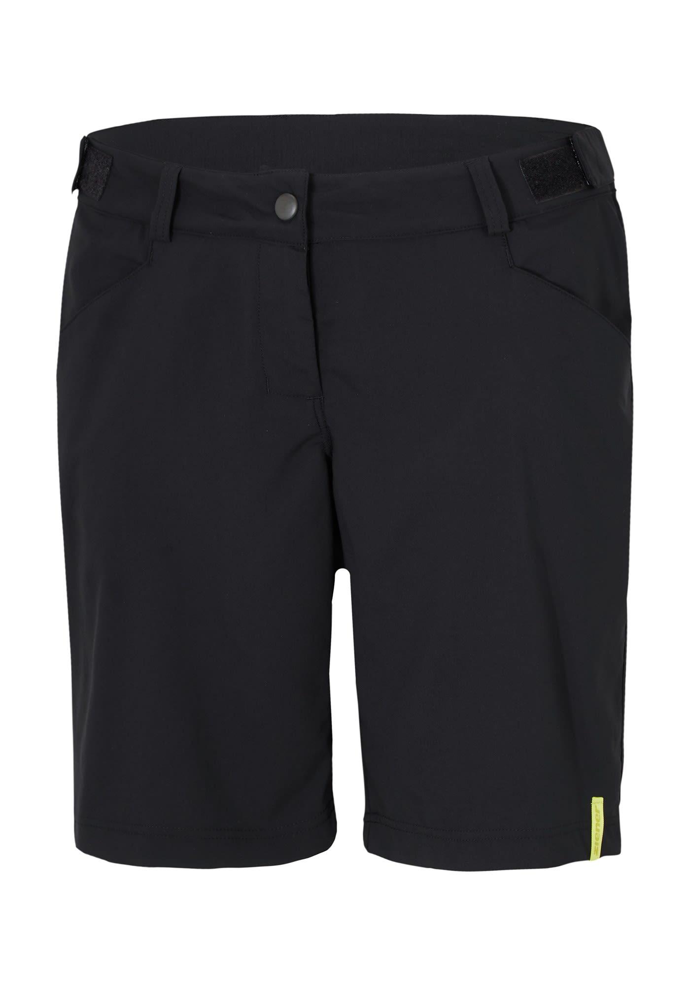 Ziener Colodri X-Function Schwarz, Female Shorts, 42