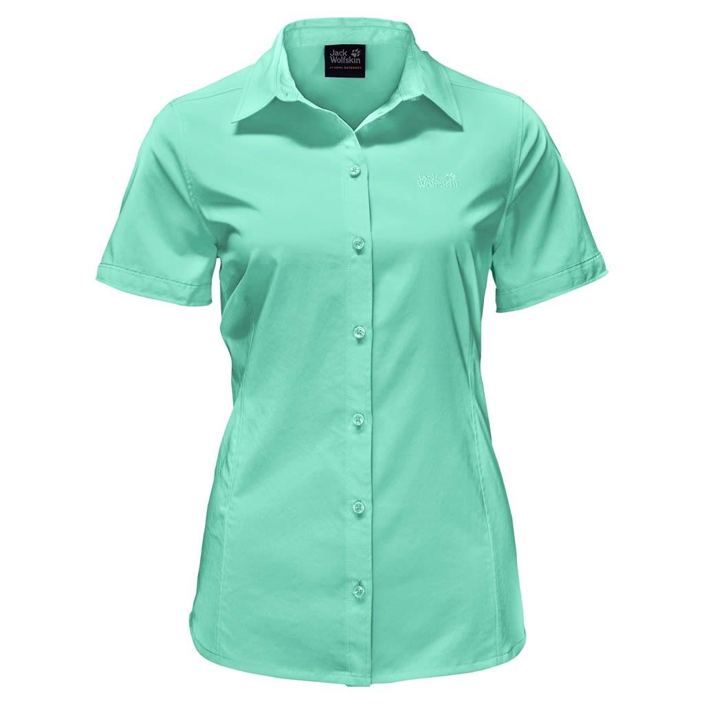 Jack Wolfskin Sonora Shirt Grün, Female Kurzarm-Shirt, S