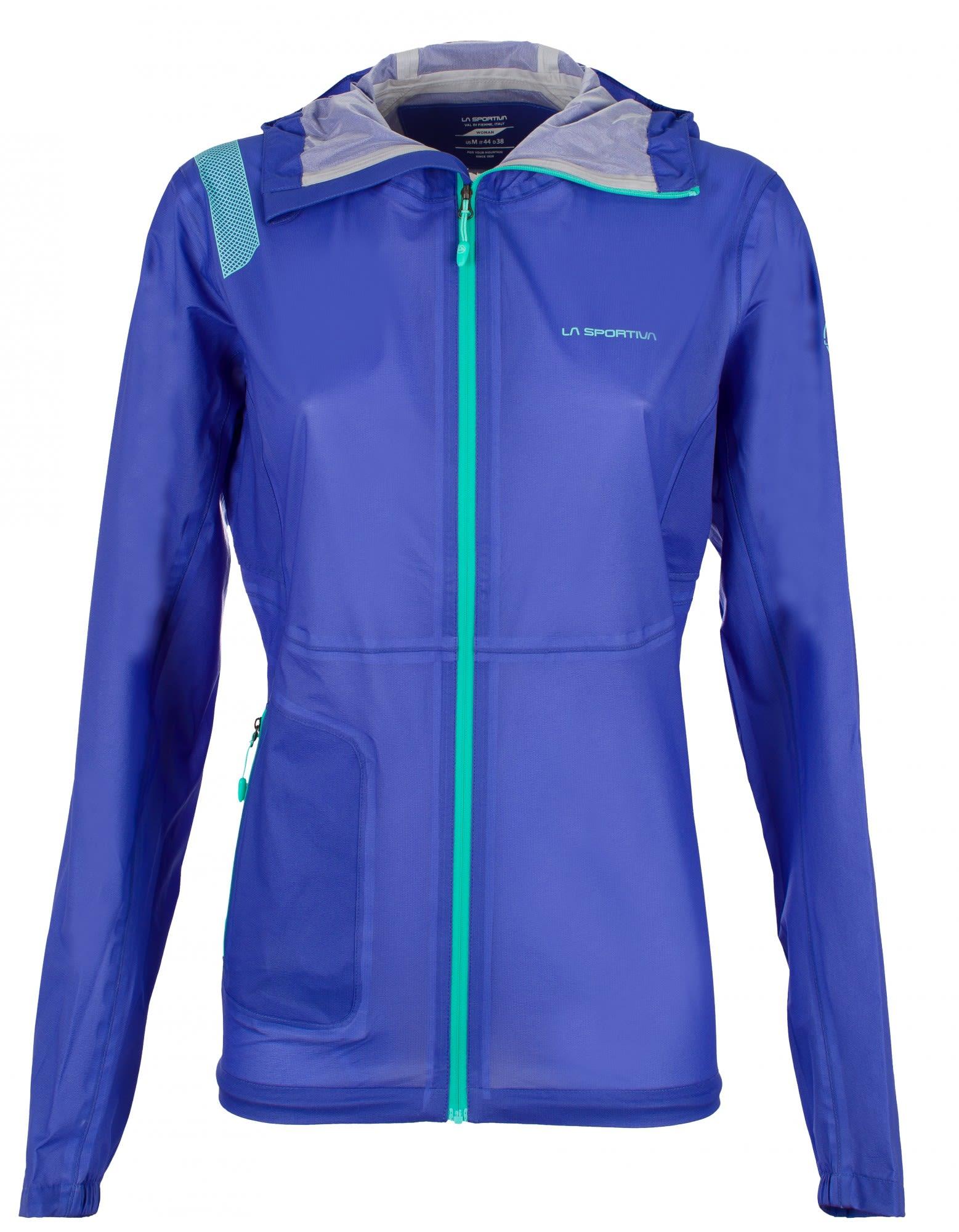 La Sportiva Hail Jacket Blau, Female Freizeitjacke, S