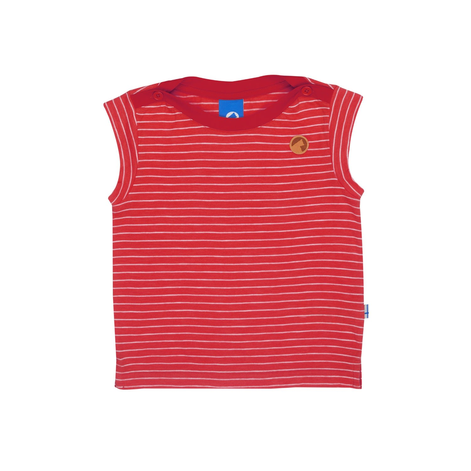 Finkid Girls Pikku Hillevi Rot, Female 80 -90 -Farbe Cranberry -Offwhite, 80 -90