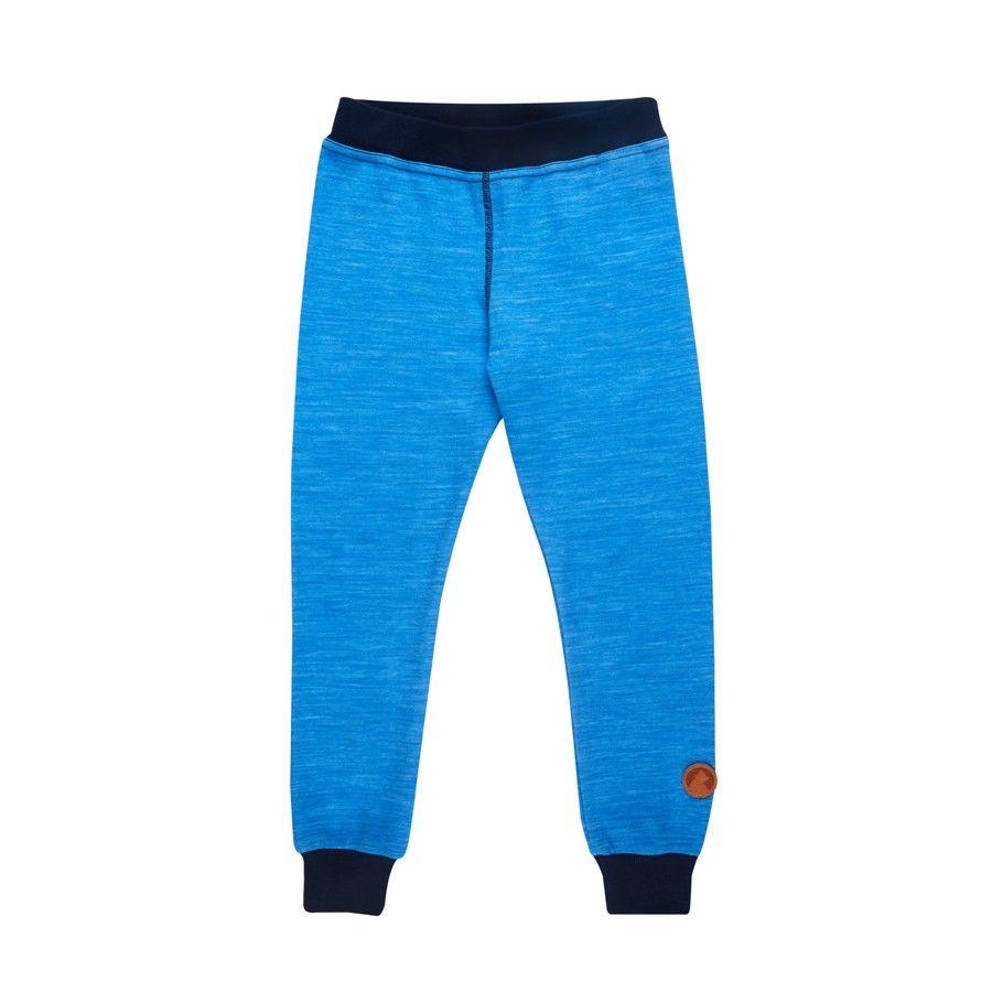 Finkid Kala Wool Blau, Merino Tights, 70 -80
