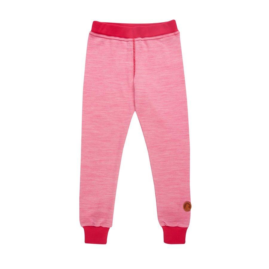 Finkid Kala Wool Pink, Merino Tights, 110 -120