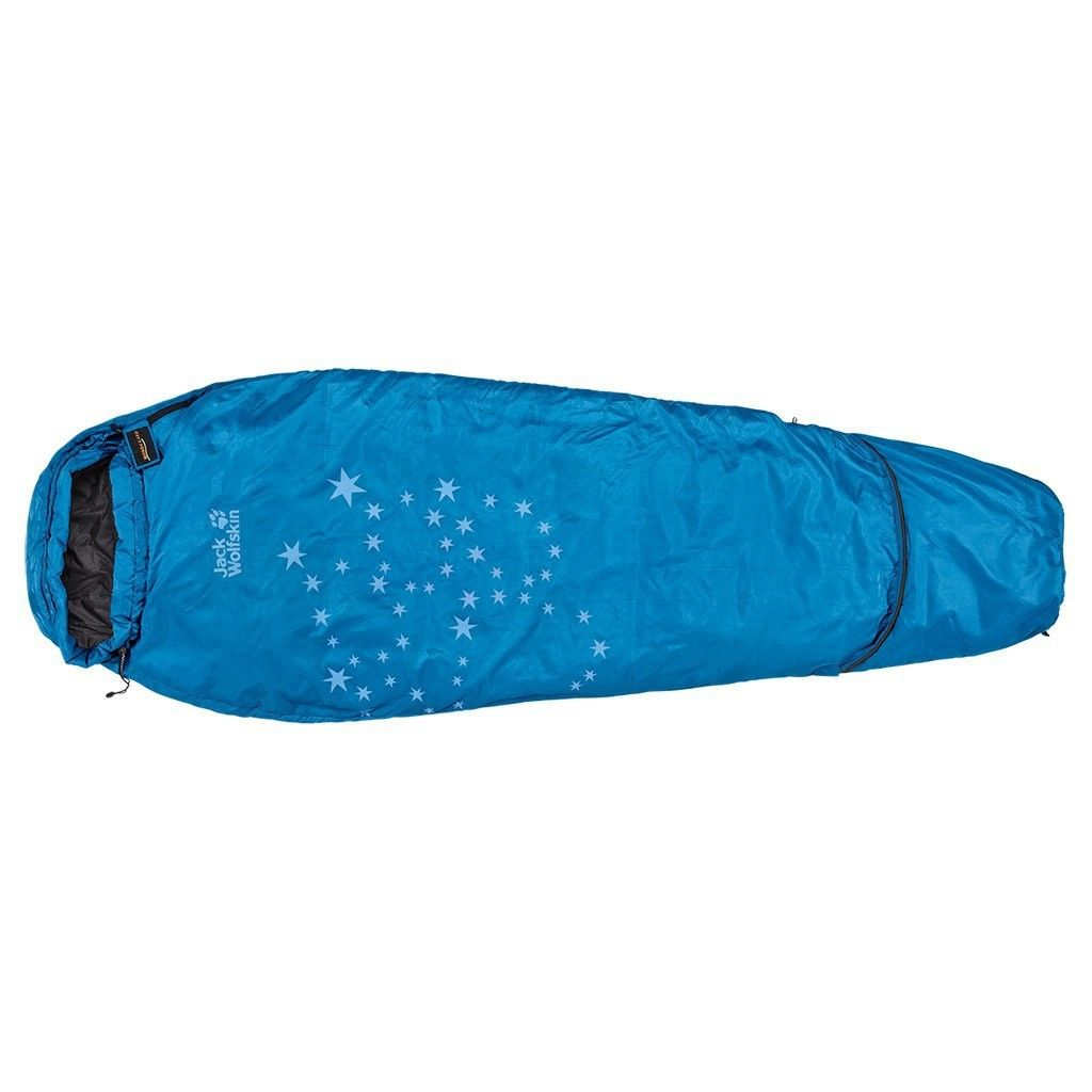 Jack Wolfskin Grow Up Star Blau, 150-190 cm -RV links -Farbe Electric Blue, 150-