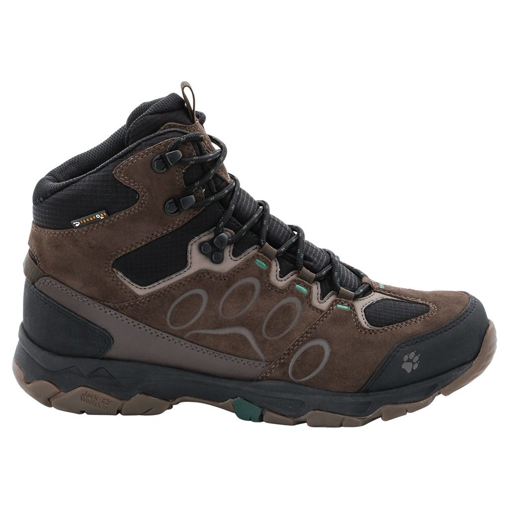 Jack Wolfskin Mountain Attack 5 Texapore Mid Braun, Male EU 40.5 -Farbe Dark Pin