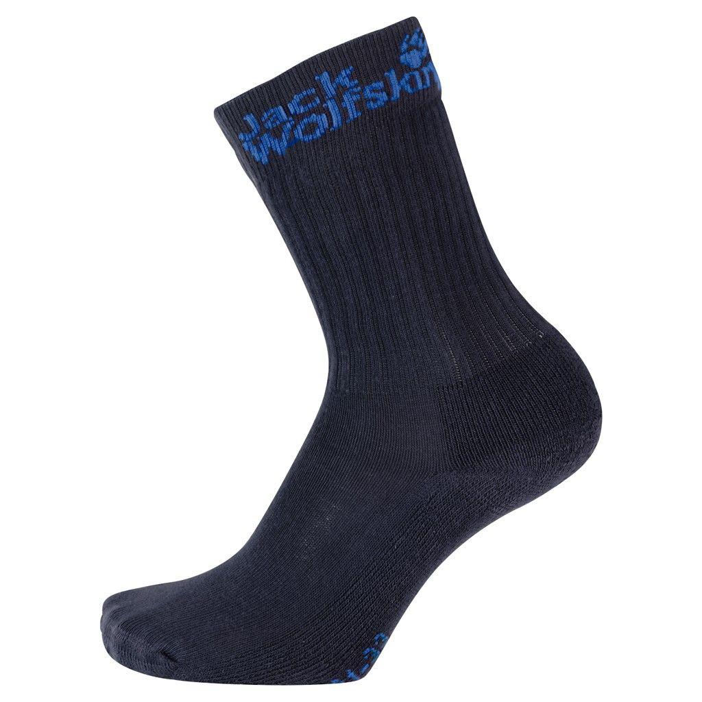 Jack Wolfskin Kids Casual Organic Classic Blau, 34 -36 -Farbe Night Blue, 34 -36