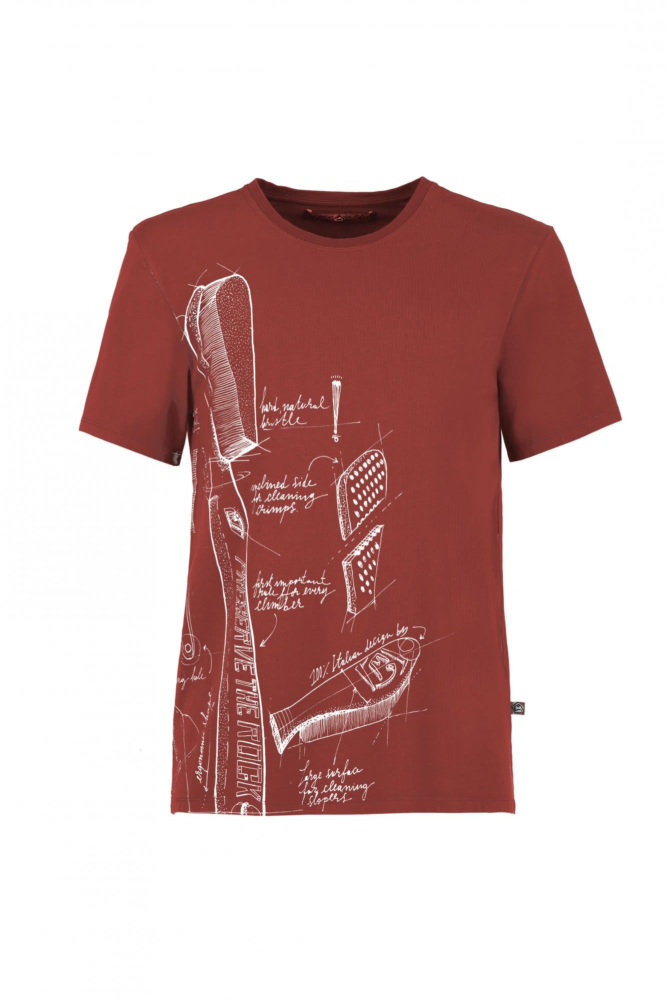 E9 Preserve Rot, Male Kurzarm-Shirt, S