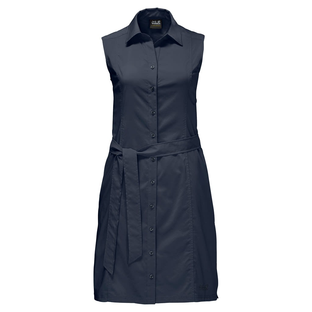Jack Wolfskin Sonora Dress Blau, Female Kleider, S