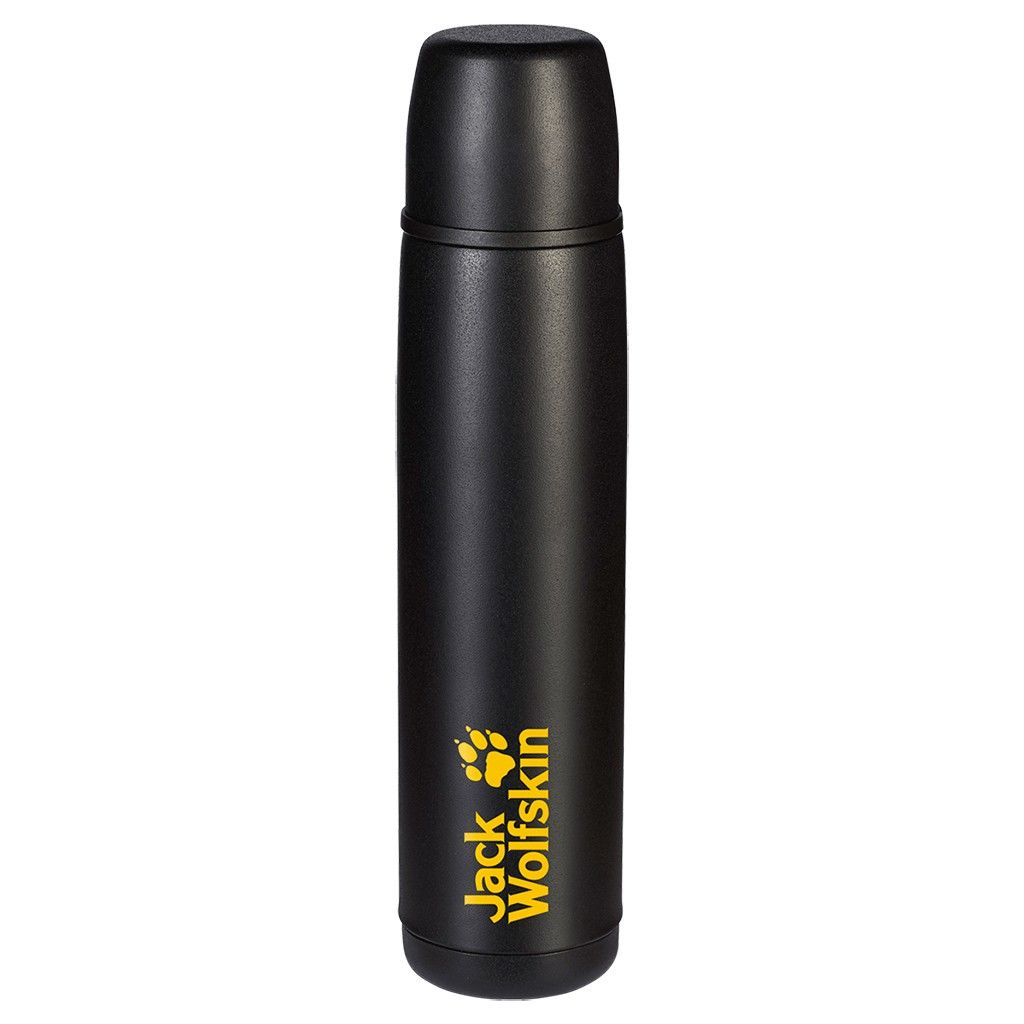 Jack Wolfskin Thermo Bottle Grip 0.6 Schwarz, 0.6L -Farbe Black, 0.6L