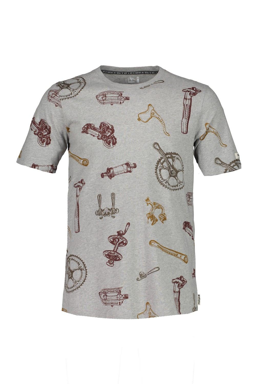 Maloja Flaviom. Shirt Grau, Male Kurzarm-Shirt, L