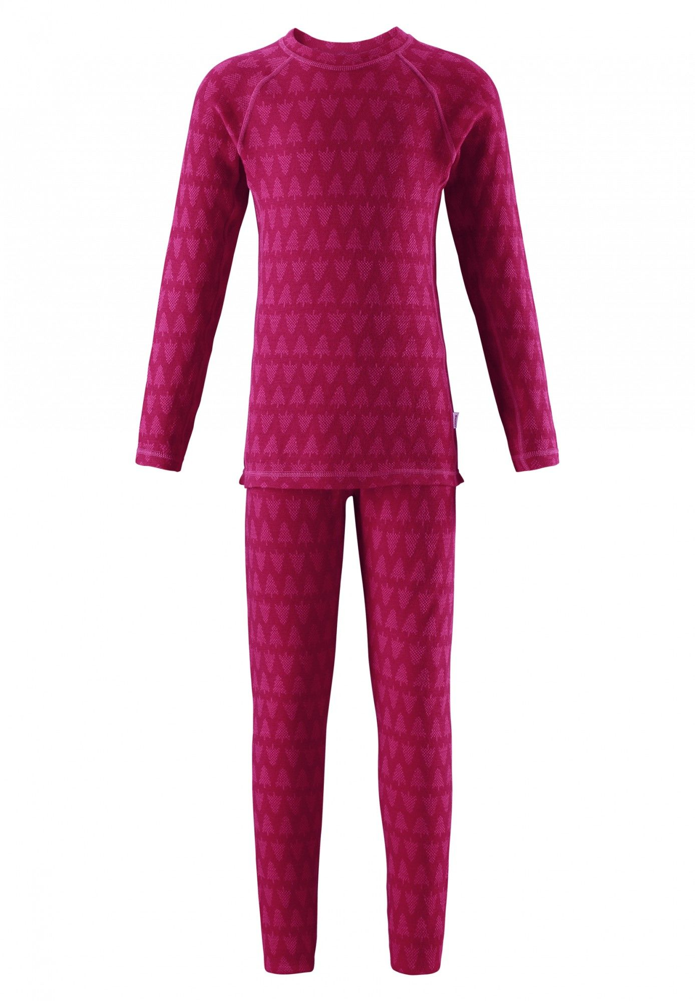 Reima Kids Taival Thermal Set Pink, 80 -Farbe Dark Berry, 80