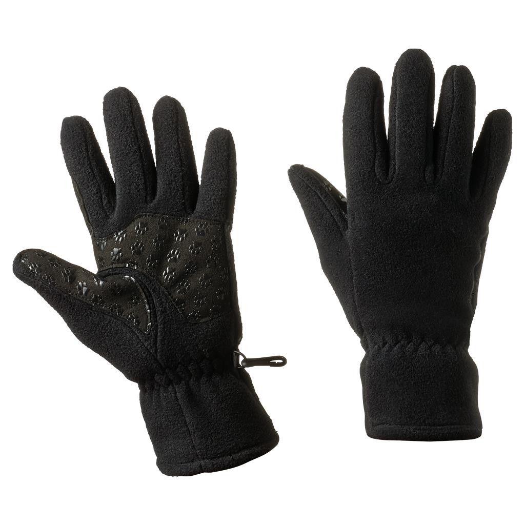 Jack Wolfskin Nanuk PAW Glove Schwarz, Female Accessoires, XS