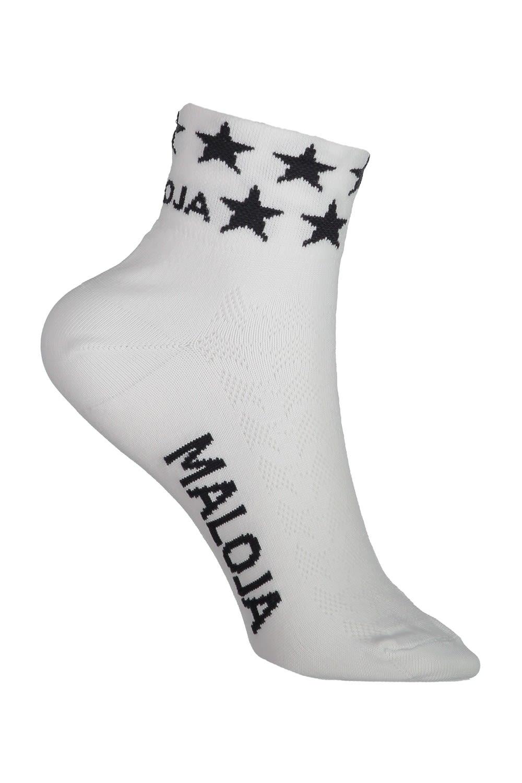 Maloja Neblam. Socken Weiß, 36 -38 -Farbe Snow, 36 -38