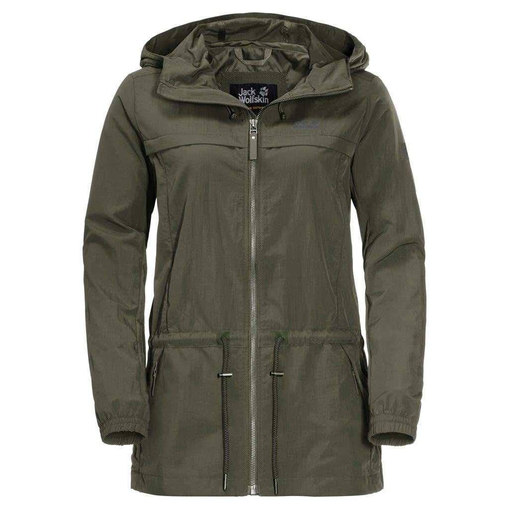 Jack Wolfskin Saguaro Jacket Grün, Female Freizeitjacke, XL